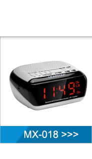 PLL led alarm clock radio for hotel Made in Shenzhen