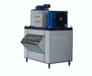 Smell Industrial Seawater Type Flake Ice Machine
