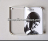 acrylic photo frame keychain/sex desktop acrylic photo picture frame