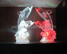 custom design acrylic handcraft gift for friends made in China low price