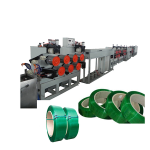 PET PP strap band tape making machine / PET PP packing tape band production line / PET PP packing strap extrusion line