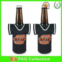 Custom neoprene T-Shirt bottle sweater cooler holder
