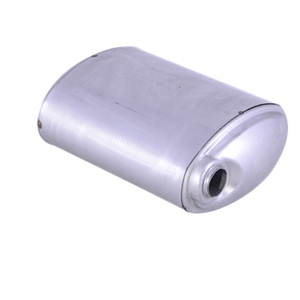 Japan Brand Vehicle 316 Muffler body stainless steel 409 Exhaust System Rear Stamped Box Muffler