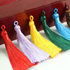 wholesale metal small tassel Clothing decoration polyester tassel