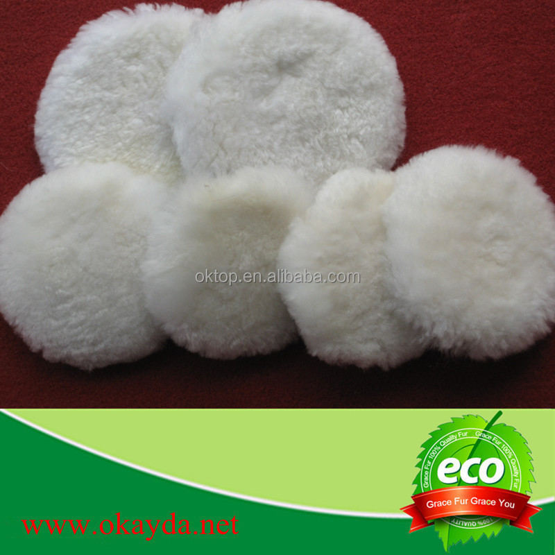 wholesale sheepskin wool car buffing/polishing pad