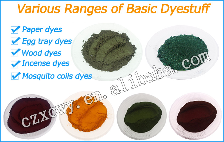 Excellent quality water soluble basic dyes basic red dyes