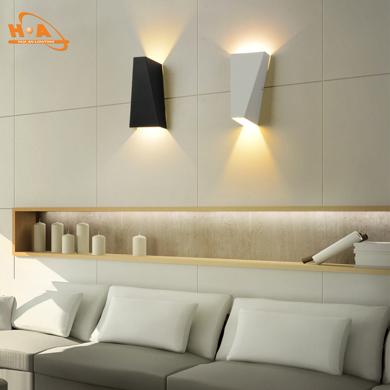 Made in China latest indoor 10w led light aluminum wall lamp for house