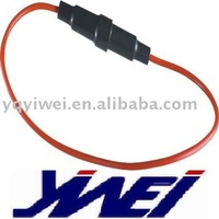 fuse holder 5*20mm bakelite material with wires YW6-202
