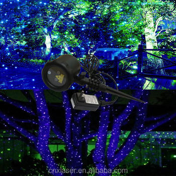 2018 professional suppliers outdoor led christmas tree light show equipment laser christmas lights