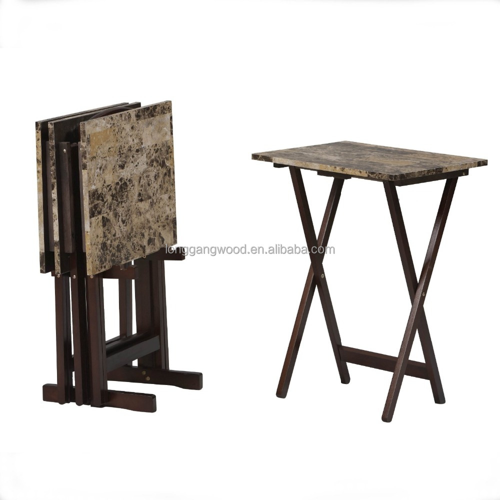 Wooden Folding Tray Table Wooden Folding Tray Table Suppliers and