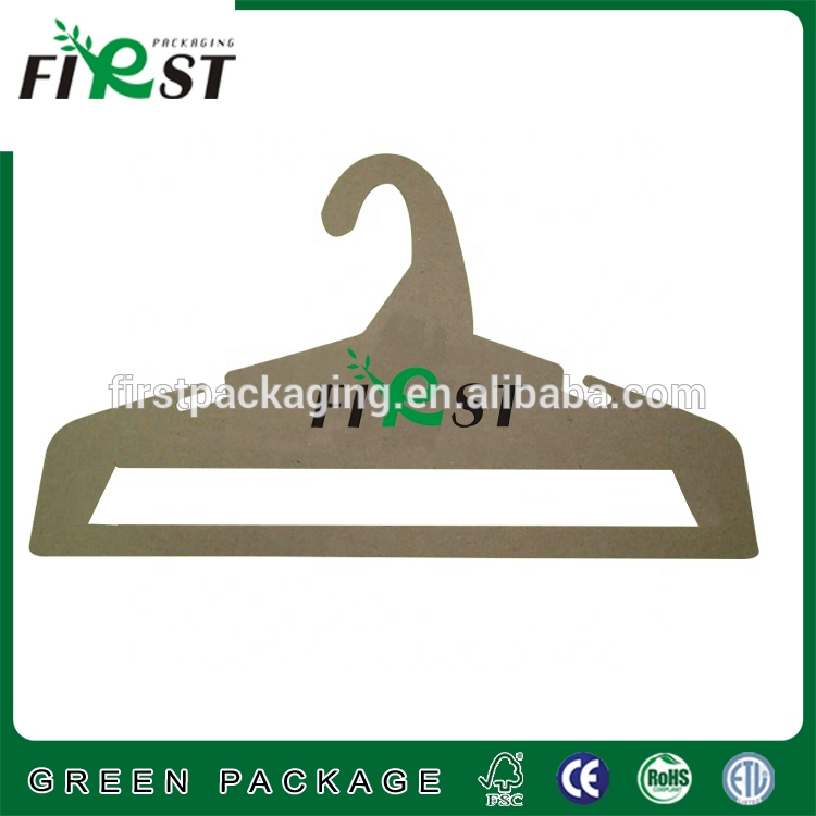 Brand new eco-friendly recyclable cardboard hanger paper hangers