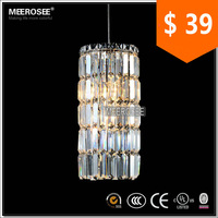 Vintage Pendant Light Crystal Hanging Lamps Old World Pendant Lighting MD8797 L2