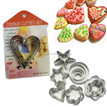Sugarcraft Pastry Baking Metal Cookie Cutter