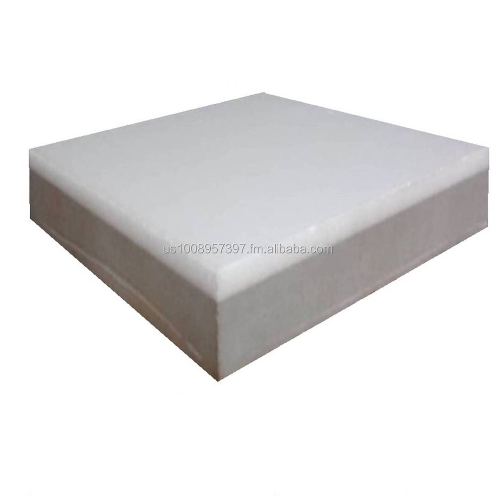 Super White Thassos Marble Dust Glass Composite Tile