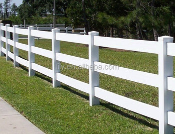 Hot Sale Factory Price Pvc Ranch Fence Cheap Farm Fencing