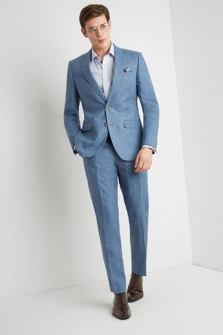 2019 Premium Sky Blue Linen Suit For Men , Buy Grey Suits For Men,Slim Fit  Suits For Men,Double Breasted Suit Product on Alibaba.com