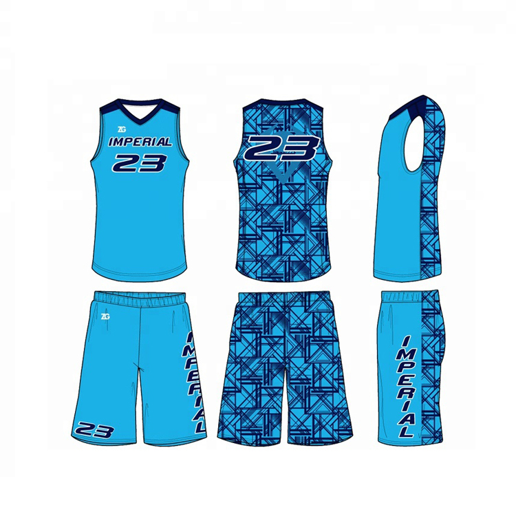 Sublimation günstige team nach 2018 reversible basketball jersey