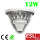 New Spot Lamp AR111 GU10/GX53 12W 850Lm Housing Alum LED lamp
