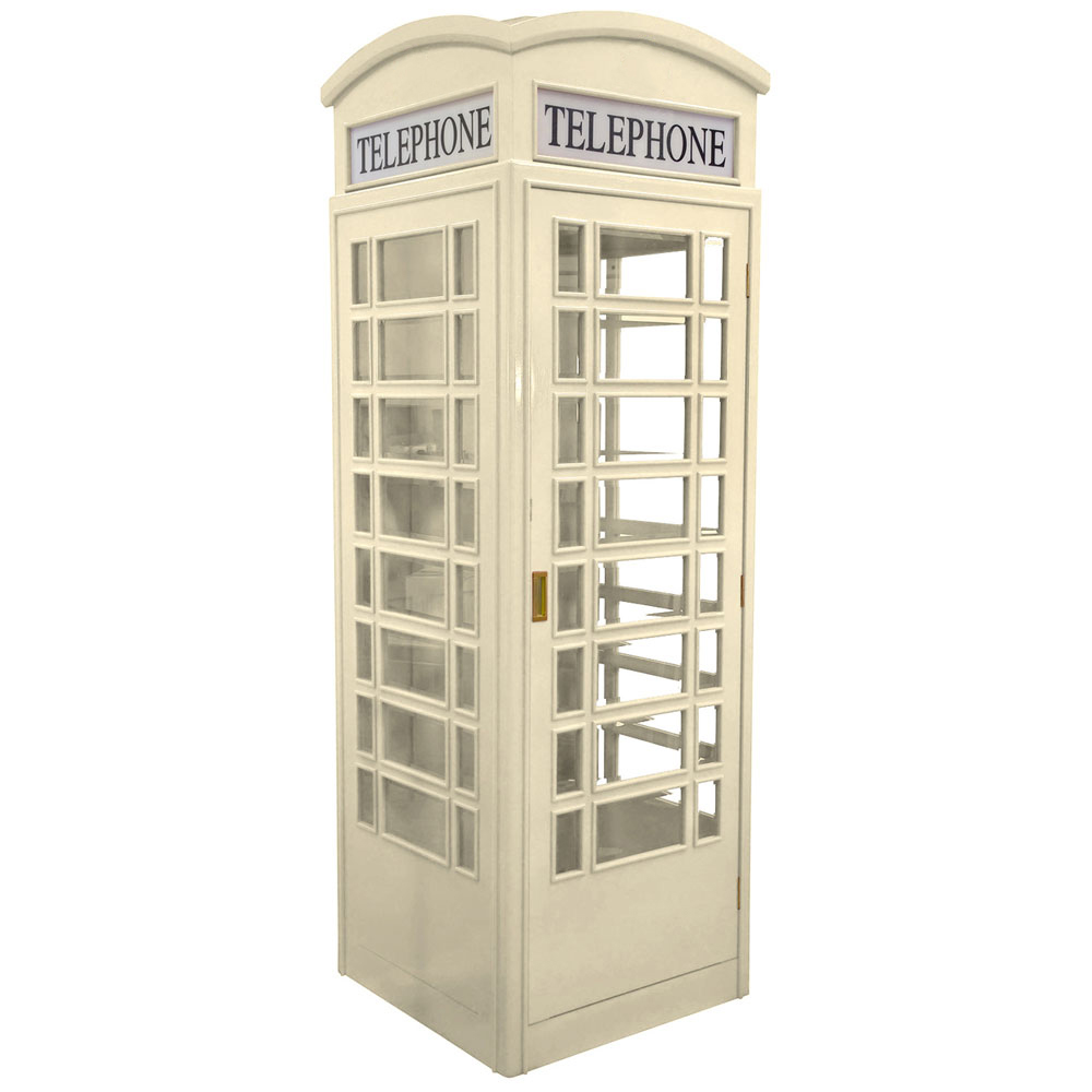 british standing outside movie old phone booth office for sale