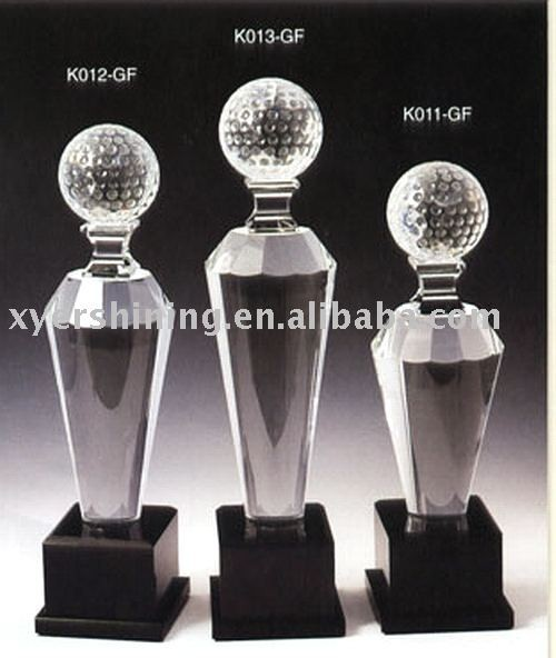 Wholesale 2015 fashion crystal trophy cup k9 crystal hand trophy