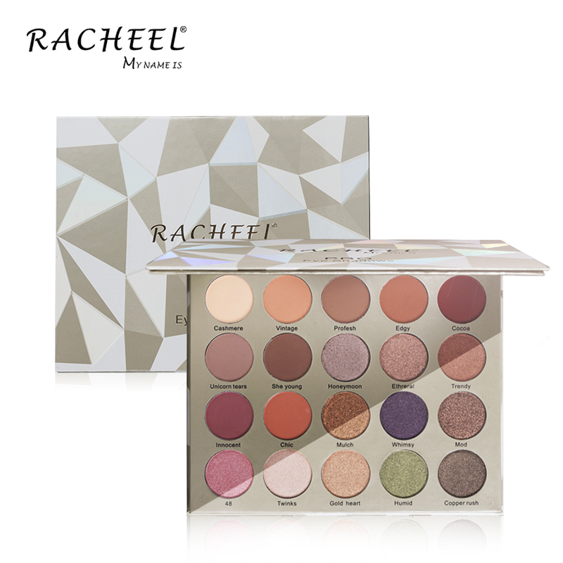 High Quality 20 Color Trianglr Eyeshadow Palette Cosmetics Custom Logo <strong>Makeup</strong> Eye Shadow Palette free <strong>sample</strong> accept OEM order