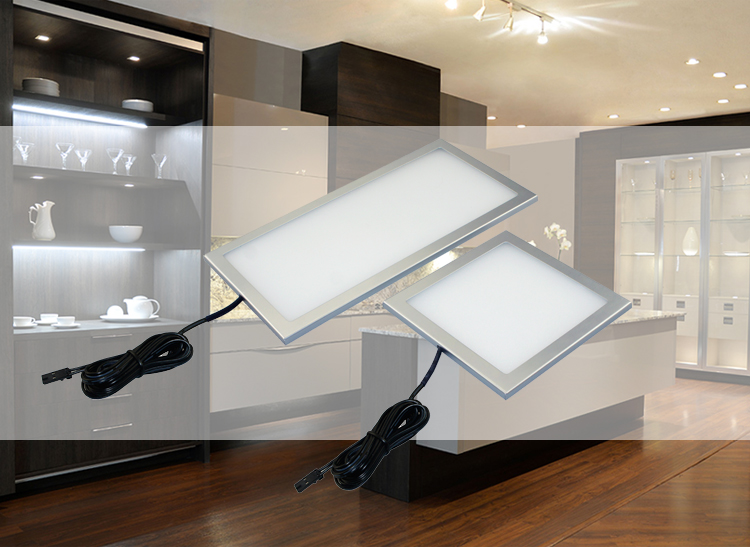 A4A13 ARTCILUX Only 5mm Thickness 3mm Tape mounting Panel type Ultra thin Kitchen cabinet light