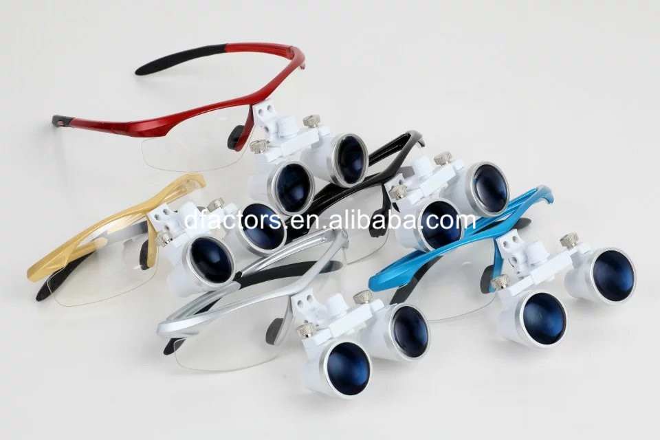 New Style Adjustable Used Dental Loupes 2.5X/3.5X