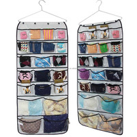 Hanging Closet Dual-Sided hanging jewelry Organizer