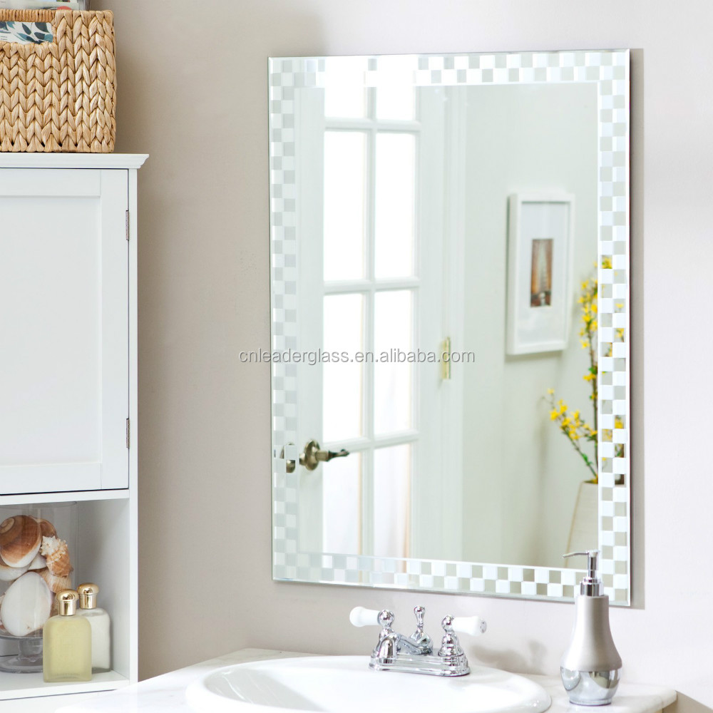 Frameless Etched Wall Mirrors, Frameless Etched Wall Mirrors ...