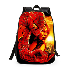 Plastic Bag Printing Logo 3-17 years old School Children School bag Spiderman Packback