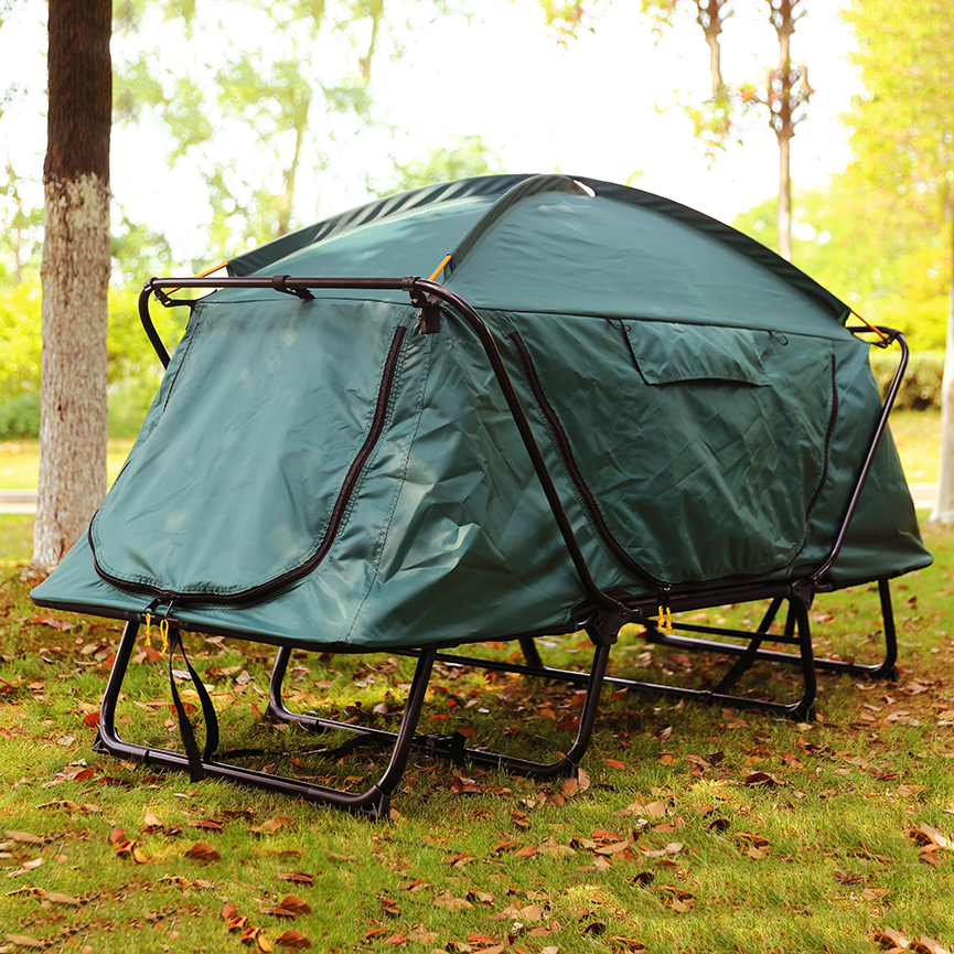 hot sell widely used waterproof camouflage trailer outdoor camping summer camp tents