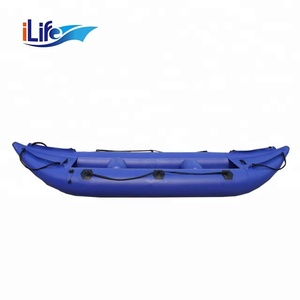 PVC Sea Canoe Rowing Tender Sale Inflatable Kayak For Fish