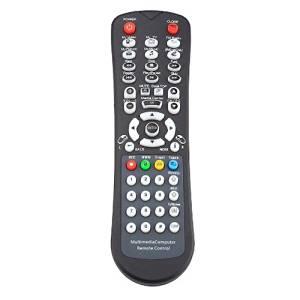 Remote control keyboard - SODIAL(R) Black NEW USB PC remote control keyboard + USB IR receiver for Computer Black