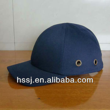 Safety baseball bump cap with ABS & EVA liner electrical safety helmet for sale