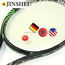 Custom Nationale Vlag Rubber <span class=keywords><strong>Tennis</strong></span> String Racket Vibration Dampener