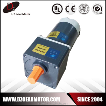 Manufacturers High Torque 24v Dc Drill Gear Motor Buy
