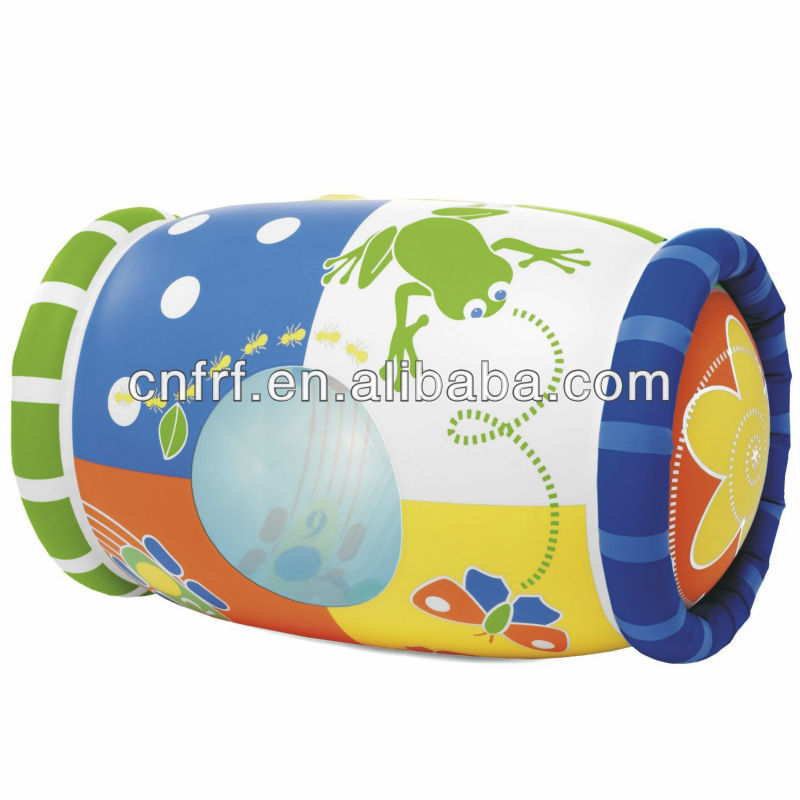 2016 mejor venta inflable del rodillo/inflable musical juguete rodillo/actividad inflable juguete rodillo