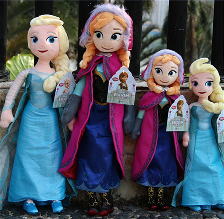2014 Hot <strong>Plush</strong> Toys High Quality Frozen Dolls Frozen Princess elsa Stuffed Soft Toys Factory Wholesale