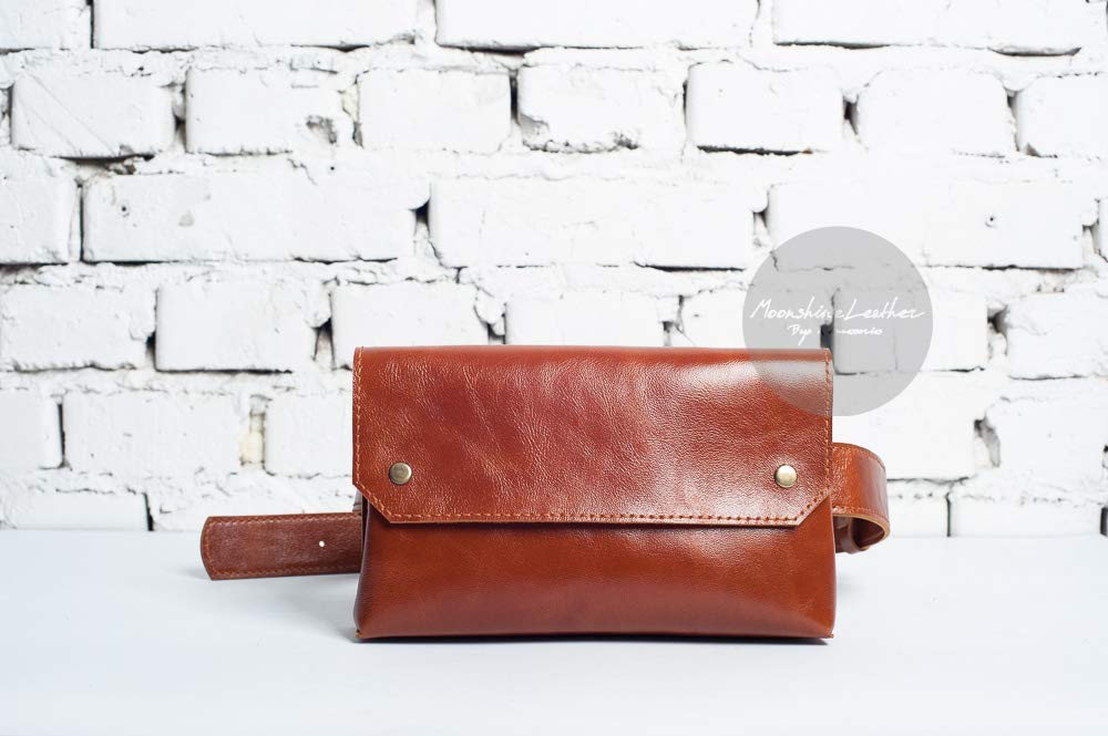 Leather waist bag, leather belt bag, womens waist bag, fanny pack purse, women bag purse, leather fanny pack, hip bag, women leather bag, waist bag leather
