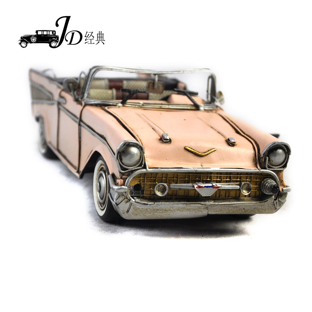 JLC868M-PK Wholesale Model Car 1:18 Handmade <strong>Metal</strong>