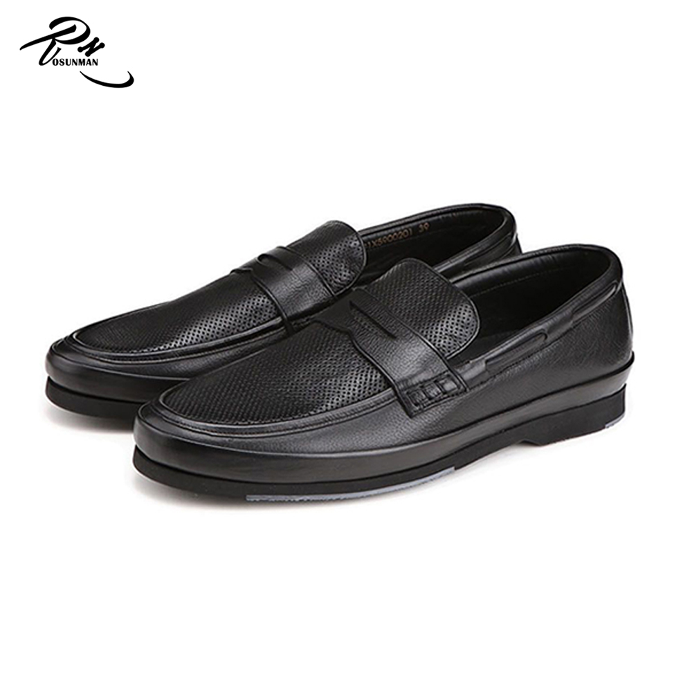 men Comfortable slip shoes casual laces no fashion on nfnxrFZ