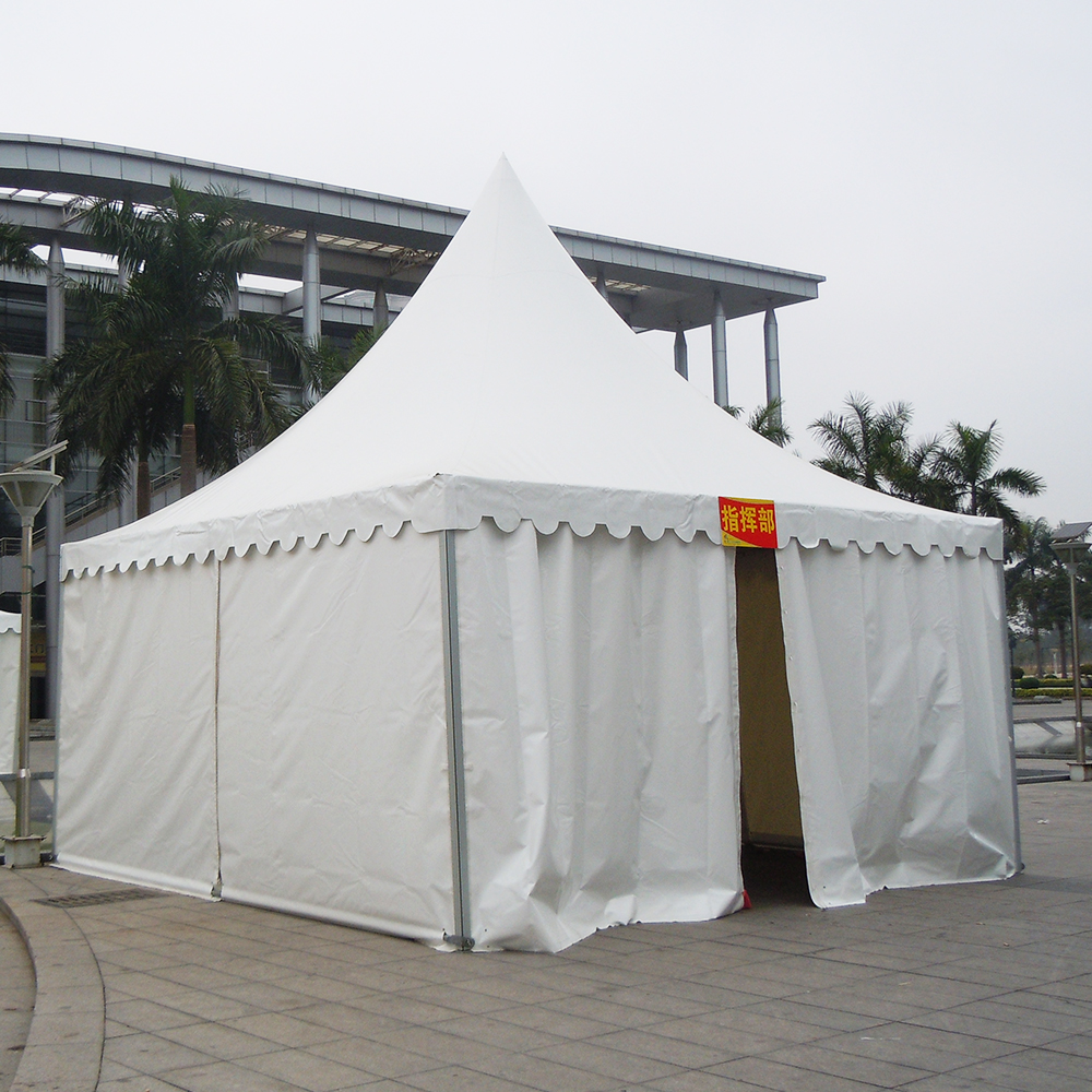 4x4,5x5,6x6 Chinese pagoda tents in Guangdong for party reception