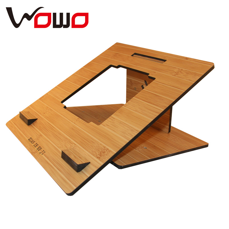 Simple Wooden Pad/Table PC Holder Stand for ipad wooden stand chariging holder