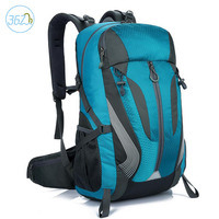 Wholesale Lightweight Outdoor Sport Backpack Folding Nylon Camping Mountaineering Travel Bag And Can Be Customized