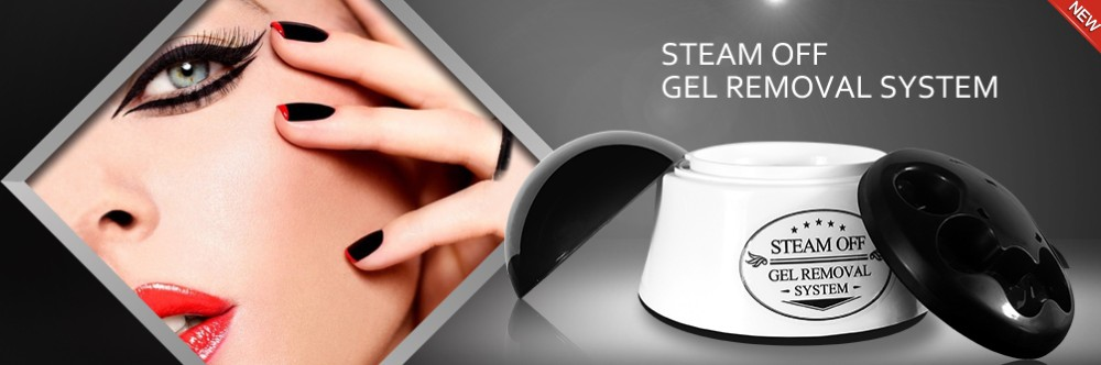 Electric Steam Off Gel Removal System Nail Polish Remover Without ...