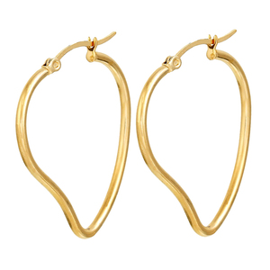 Wholesale Simple Big Round Earrings Online 40Mm Earring Hoops Latest Simple Style Earrings
