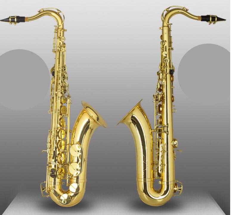Chinese High quality gold lacquer Tenor Saxophone Tenor
