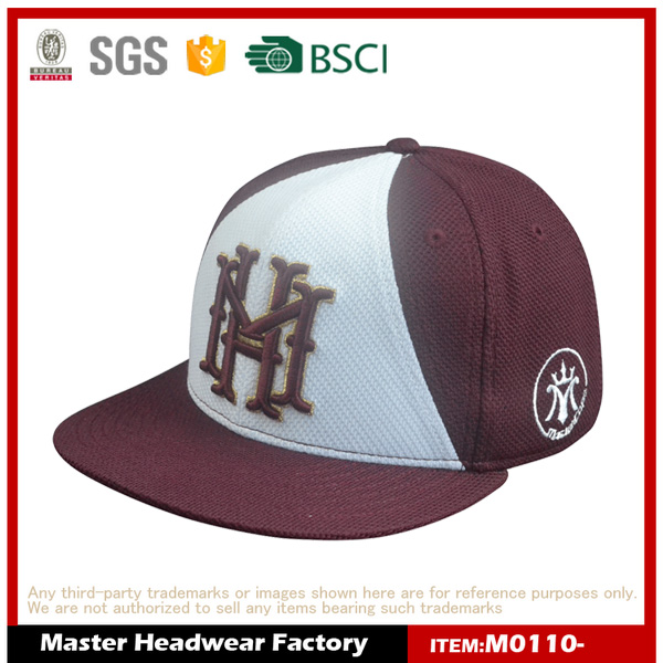 High Quality Customize Cotton 3D Embroidery Custom Snapback, Snapback hats for New era