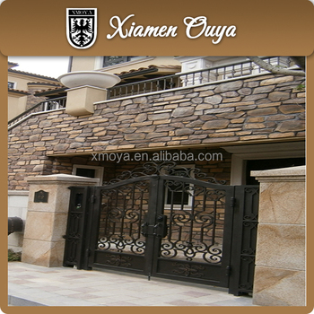 New Styles Wrought Iron Gate Design For Home