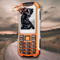 Cheap in stock Original Unlocked vkworld Stone V3S Quad Band Rugged Feature Waterproof Phone Dual Torch Dual SIM 2G mobile phone